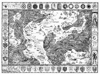 Map of Malar by AllisonStanley