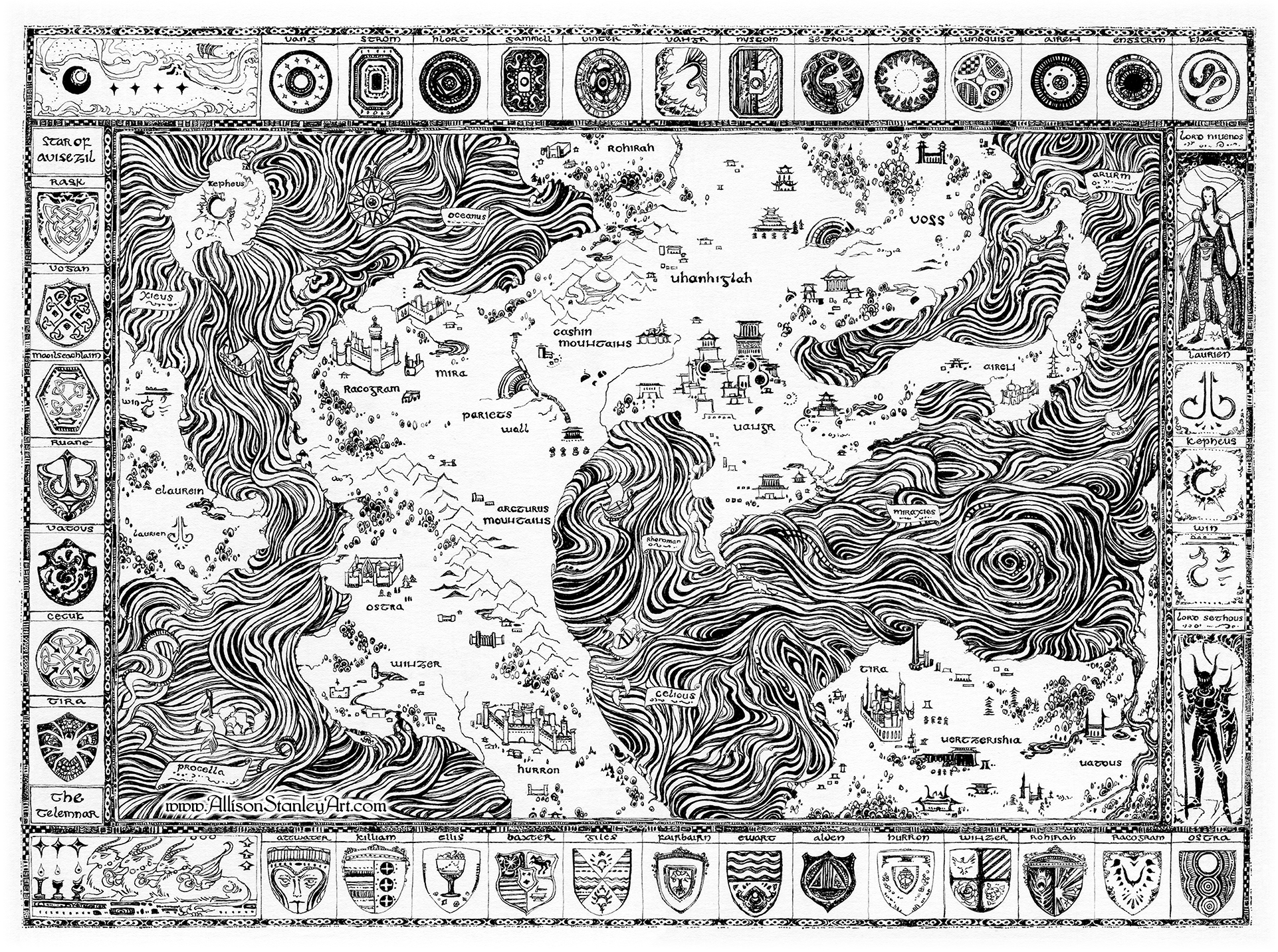 Map of Malar by AllisonStanley