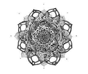 Floral Spin by AllisonStanley