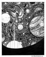 Glittering Orbits by AllisonStanley