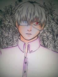 Kaneki-kun # by utoran