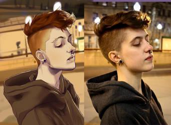 1 1/2 Hour Self Portrait