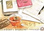 #daily055 Today's Breakfast (7)