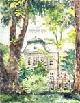 #daily083 Furukawa Hall on a summer day
