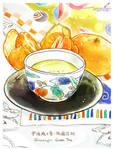 #151 Green Tea and Oranges