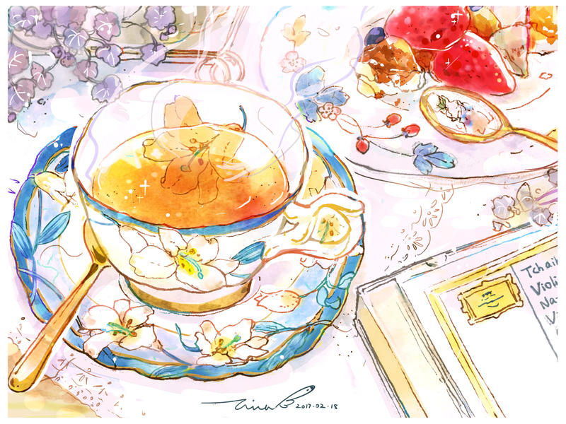 #154 Red Tea with Classical Music
