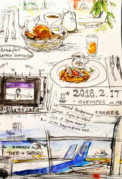 Tokyo Sketch Tour_day 4