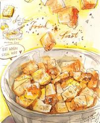 Fried Toast Recipe