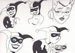 Harley Quinn and  A Harley Quinzel : BTAS