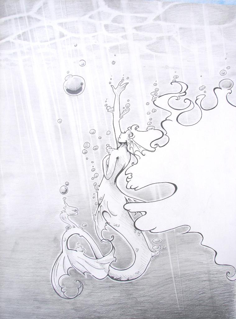 The Little Mermaid by Valen-LaRae