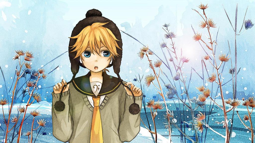 Anime boy winter wallpaper by letfio on deviantart - Winter anime girl wallpaper ...