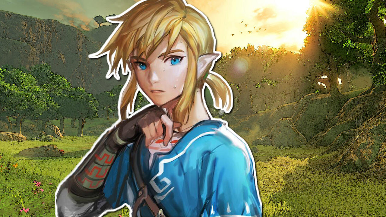 Breath Of The Wild Link Wallpaper By Letfio On Deviantart