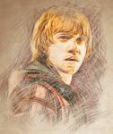RW Lines Fan Art Portrait