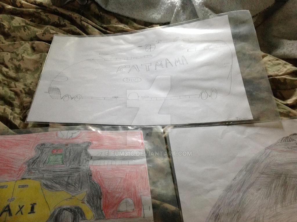 3 drawings by fum316
