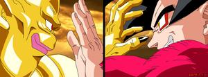 Nuova and Goku