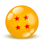 Original Dragonball Fan Button by Brinx-dragonball