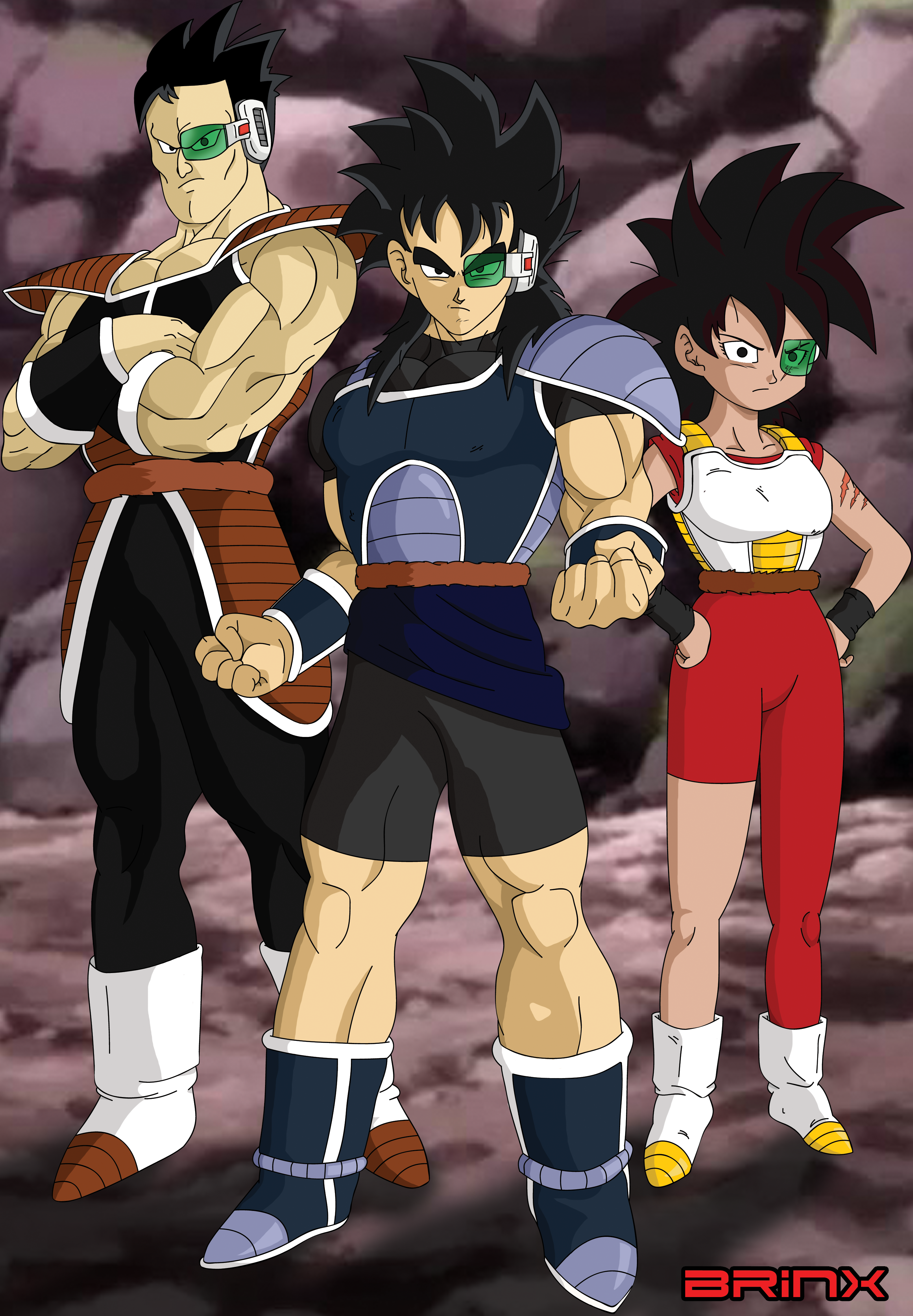The Lukos Elite Squad by Brinx-dragonball