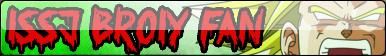 LSSJ Broly Fan Button