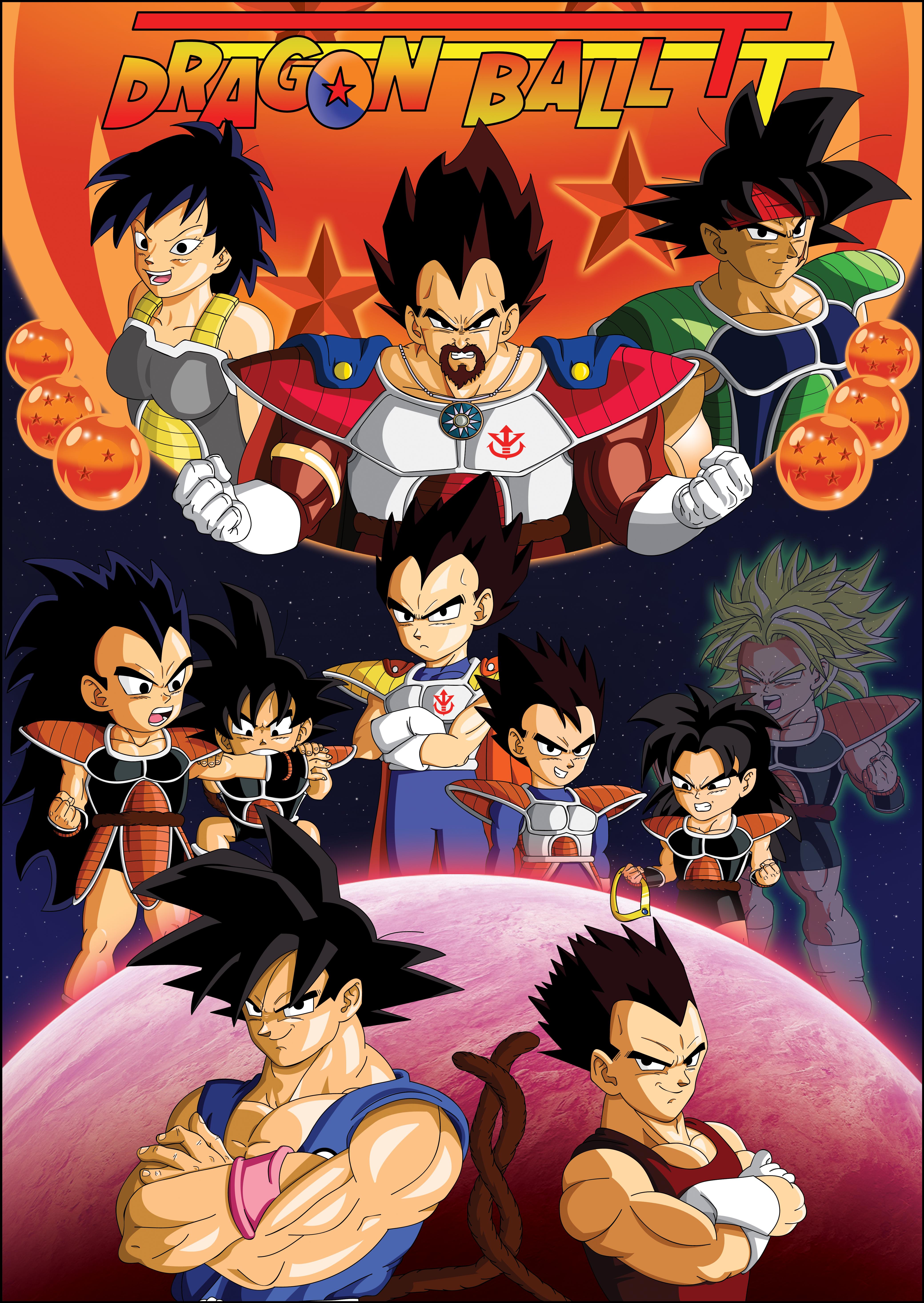 Dragonball TT saga 1 Poster by Brinx-dragonball