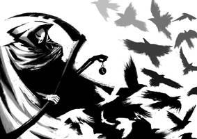 Grim Reaper by JoseOchoaArt