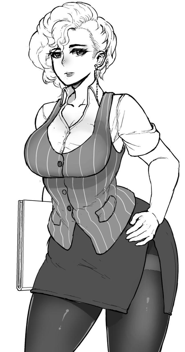 Half Body Sketch Commission - TheOnlyJero By Kaitsuart On DeviantArt