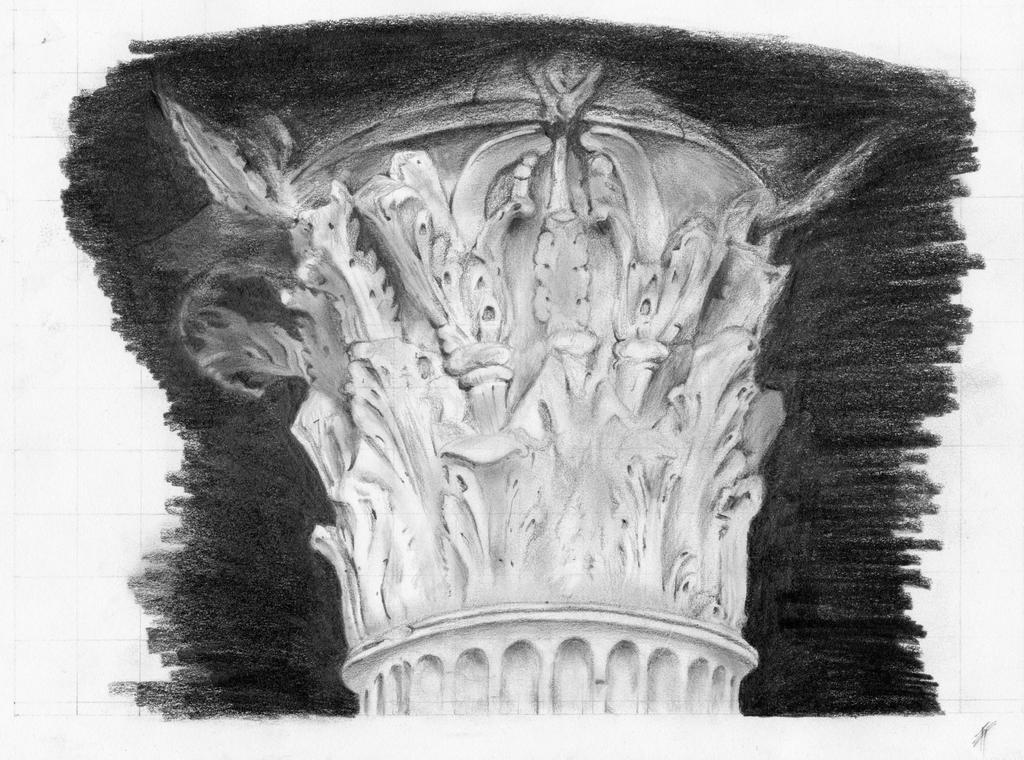 Capitello corinzio by TeresaFano