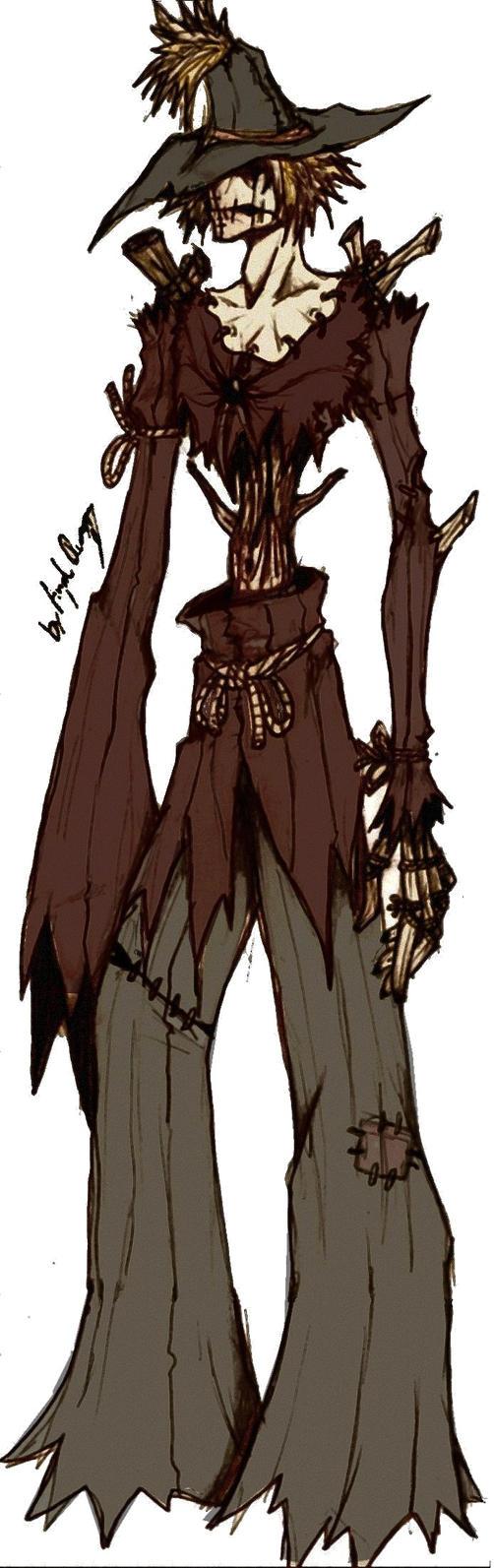 The Brainless Scarecrow Dark by MaverickTears on DeviantArt