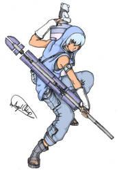 Tenshi: Battle Ready by MaverickTears