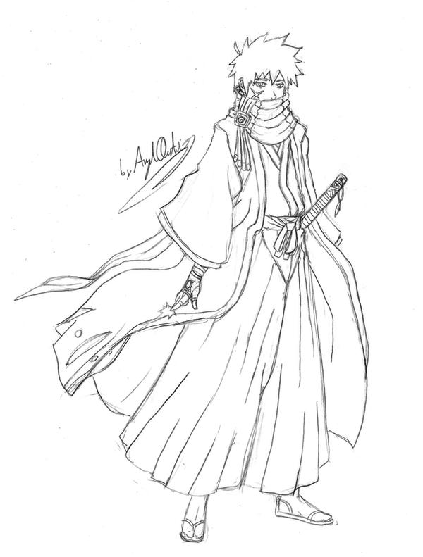 Captain Shinku Shiatsu-Sketch by MaverickTears