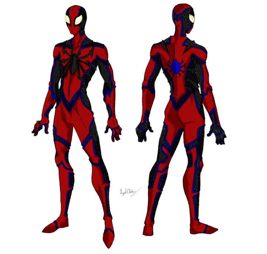 Spider-Man Fusion by MaverickTears