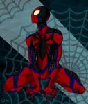 Perching Spider - Spider-Man