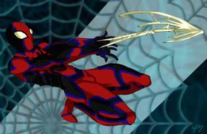 Web Slinging Spider - Spider-M by MaverickTears