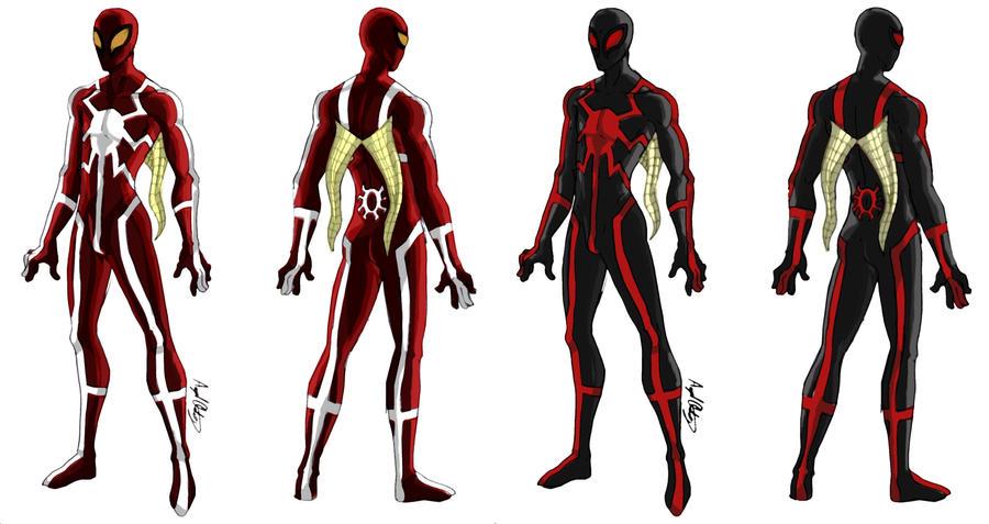 Master Web Spider-Man V1-2 by MaverickTears