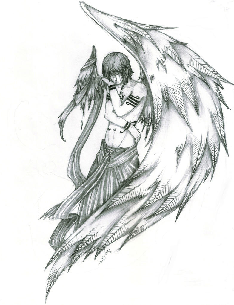 Broken Wing by boyoftears on