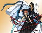 Yasuo And Ronin: Shikai Burst by MaverickTears
