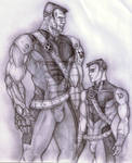 Colossus - Pencil by MaverickTears