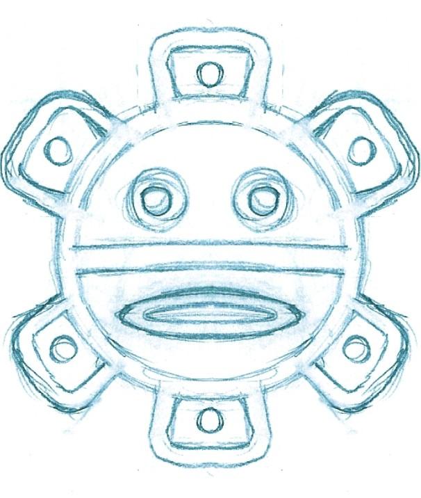Taino Sun Sketch By Mavericktears On Deviantart