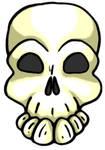 Happy Skull by MaverickTears