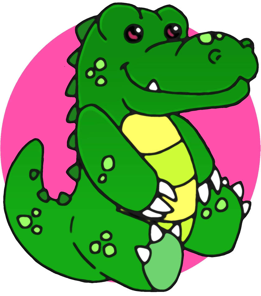 Baby Safari - Crocodile by MaverickTears