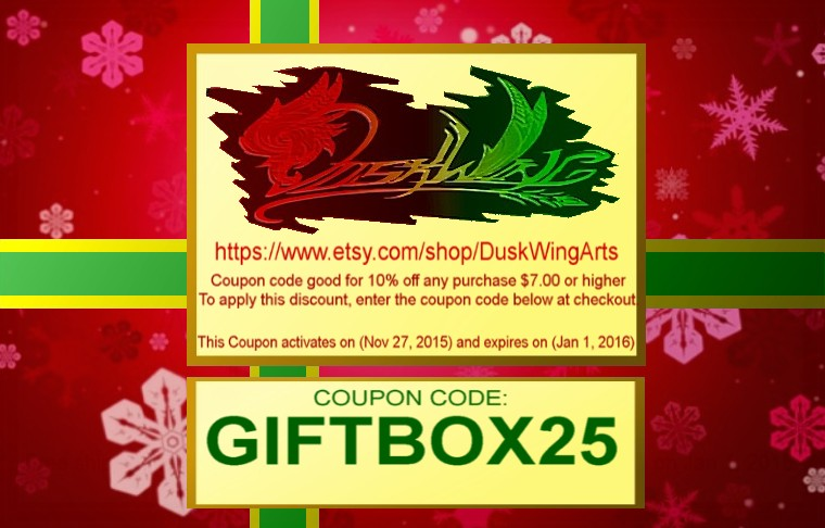 Christmas Coupon Code by MaverickTears