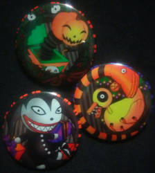 The Nightmare Before Christmas - Toy Set by MaverickTears