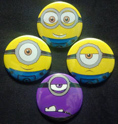 Minions Faces by MaverickTears