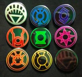 Lantern Corps by MaverickTears