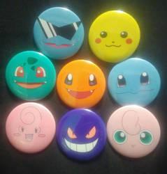 Pokemon Faces by MaverickTears