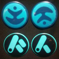 3Below - Badge Set by MaverickTears