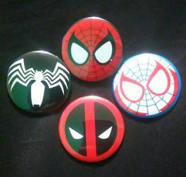 Marvel - Spidey Logos by MaverickTears