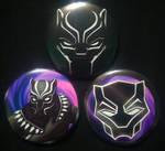 Black Panther Set by DuskWingArts