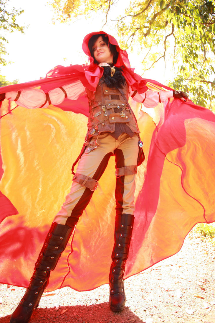 Steampunk: Le Petit Chaperon Rouge by ShadewithoutSun
