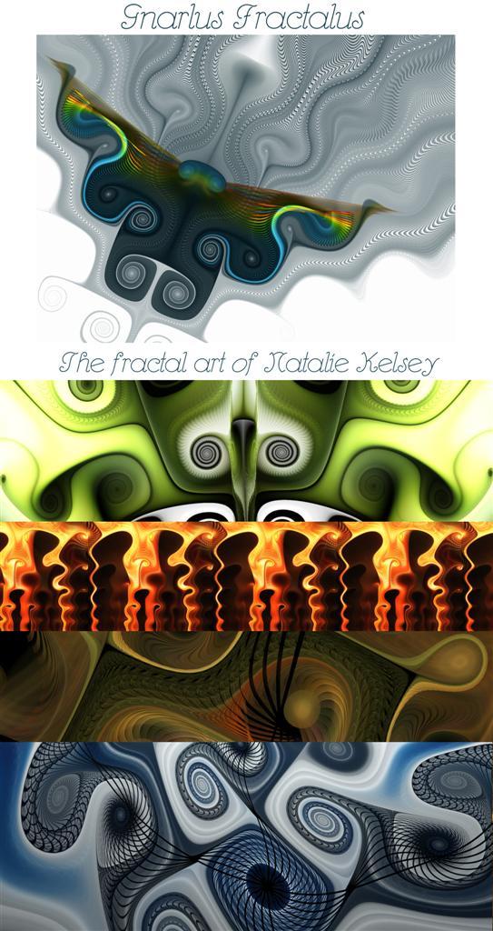 Gnarlus Fractalus: A Calendar by NatalieKelsey