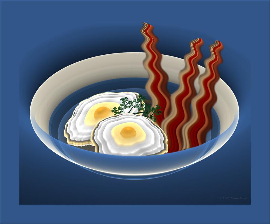 Fractal Breakfast: 2nd Helping by NatalieKelsey